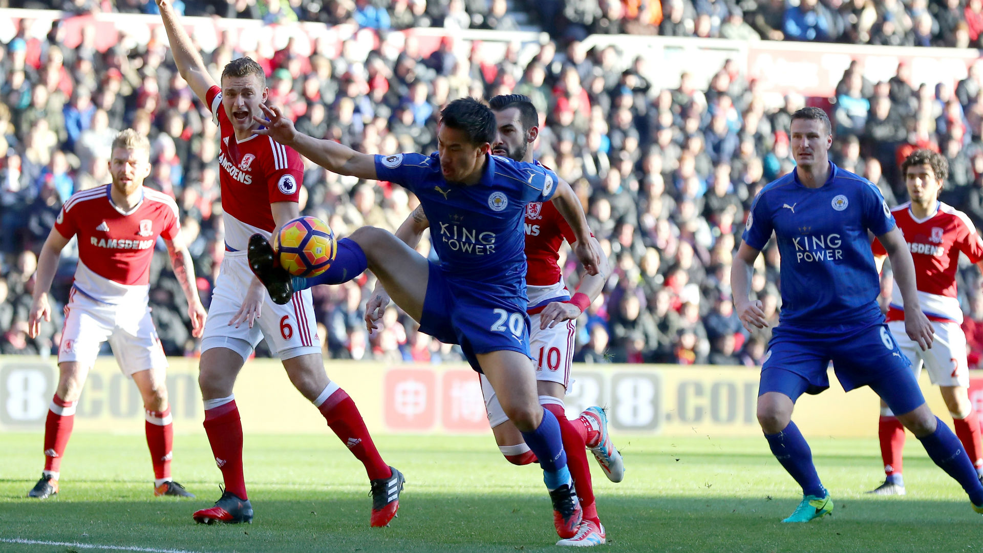 Middlesbrough Leicester Okazaki