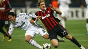 Massimo Ambrosini AC Milan Real Madrid Champions League