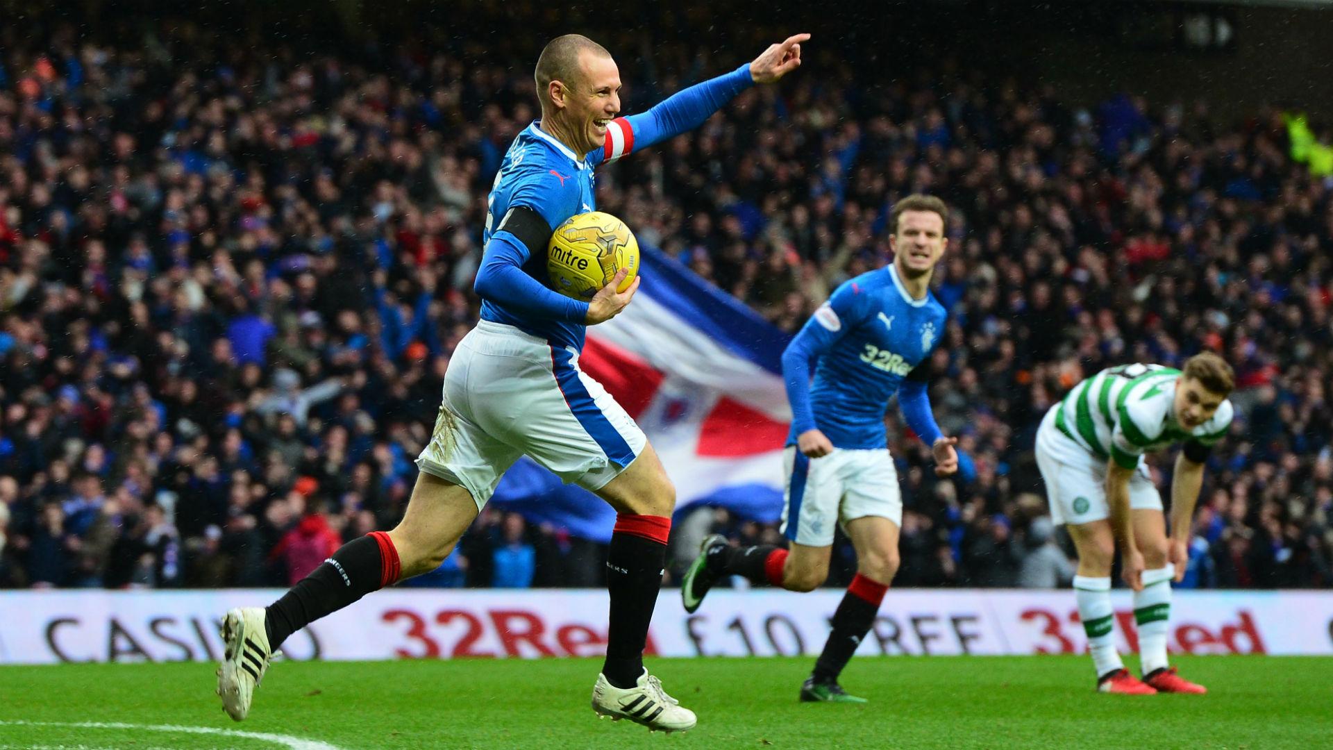 Rangers Celtic Kenny Miller