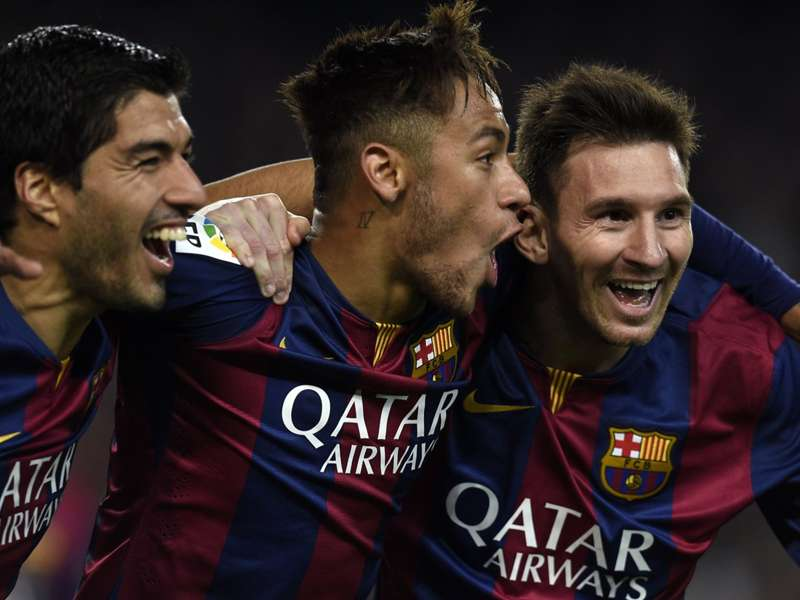 Suarez: My job is to help Messi & Neymar