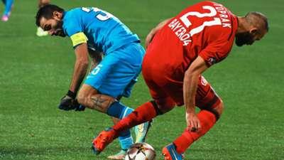 Danny Omer Toprak Zenit Bayer Leverkusen Champions League 04112014