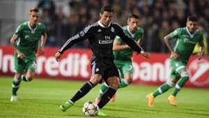 Cristiano Ronaldo penalty Ludogorets