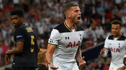 HD Toby Alderweireld Tottenham Monaco Champions League 14092016
