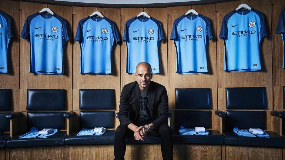 Manchester City 2016-17 Kit