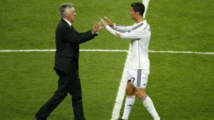 Ancelotti Ronaldo Real Madrid