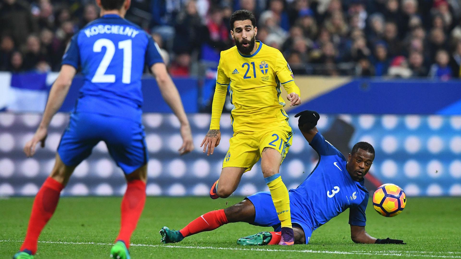 Russia 2018, qualificazioni: la Svezia sorprende la Francia, il Belgio vola