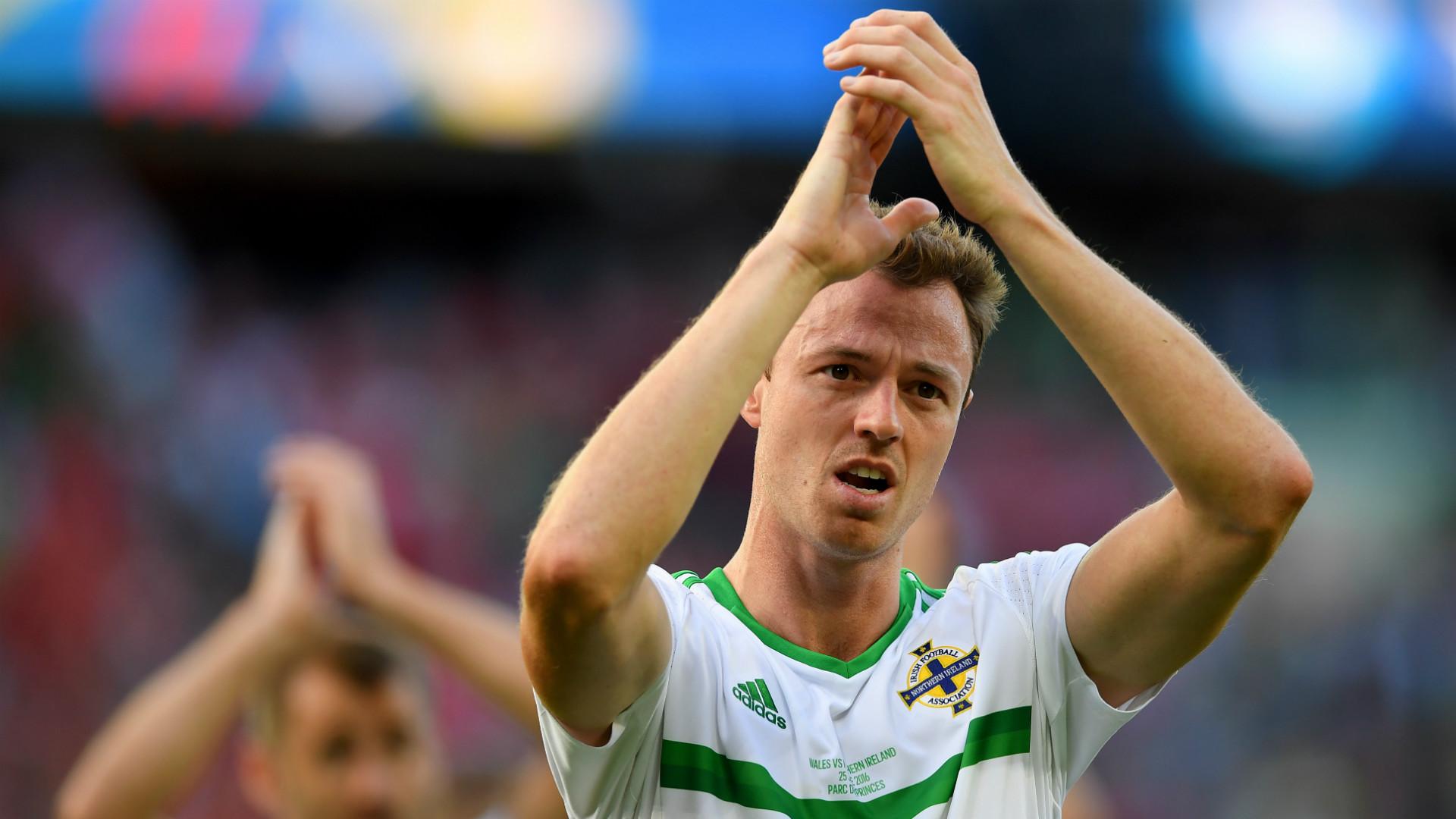 Jonny Evans Northern Ireland Euro 2016