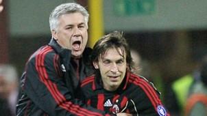 Ancelotti XI Andrea Pirlo