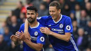 Diego Costa Nemanja Matic Chelsea 01102016