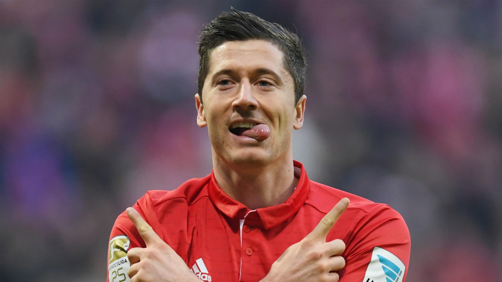 HD Robert Lewandowski Bayern Munich