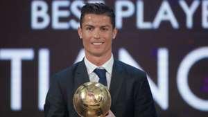 Cristiano Ronaldo Globe Soccer Awards 2014