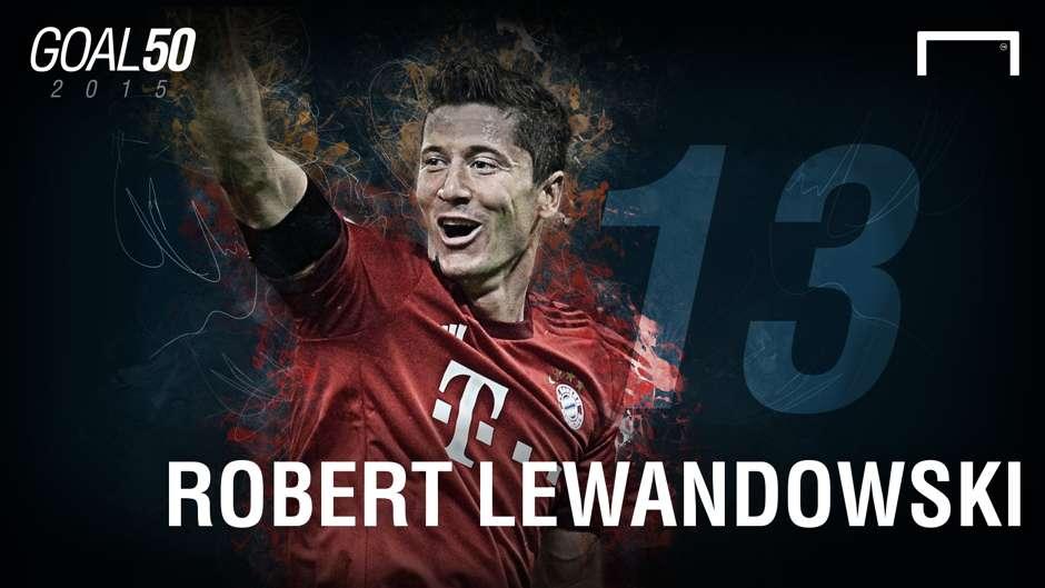13 Robert Lewandowski G50