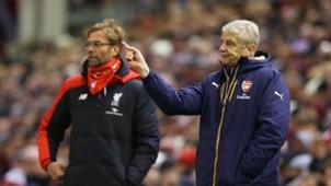 Jurgen Klopp, Liverpool, Arsene Wenger, Arsenal