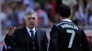 Carlo Ancelotti Cristiano Ronaldo