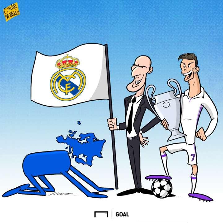 CARTOON Europe bows to Madrid