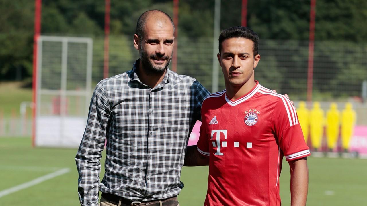 Bayern Munich News Thiago Says Pep Guardiola S Trust Convinced Him
