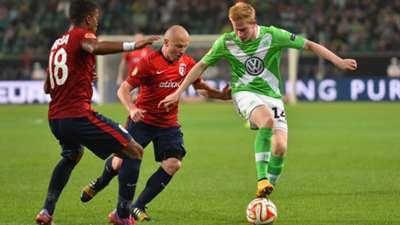 Kevin De Bruyne Wolfsburg Europa League 0210214