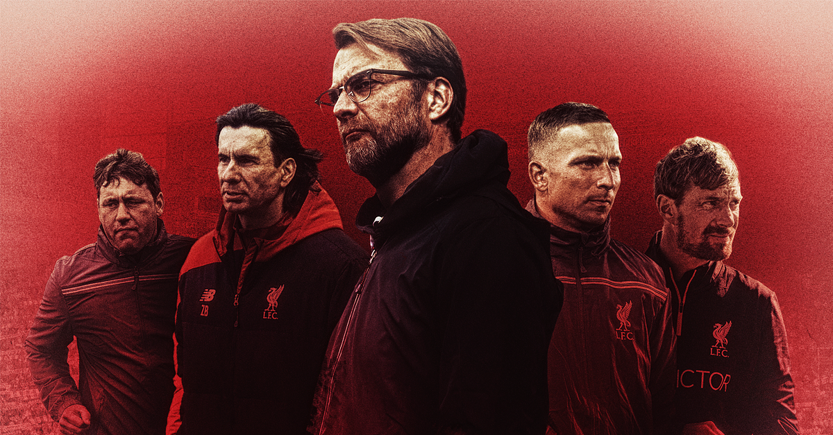 Jurgen Klopp Liverpool backroom team