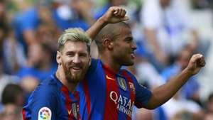 Rafinha & Lionel Messi Leganes v Barcelona 170916