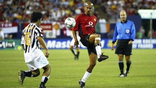 Juan Sebastian Veron Manchester United