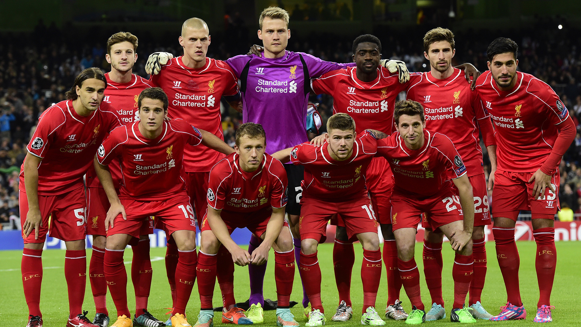 Line Up Real Madrid Liverpool Champions League 04112014