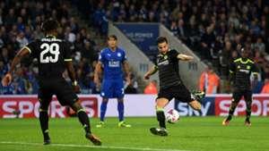 Cesc Fabregas Chelsea Leicester