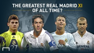 GFX Real Madrid greatest XI gallery