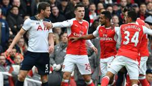 Jan Vertonghen Premier League Arsenal v Tottenham 061116