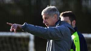 Arsene Wenger, Arsenal training