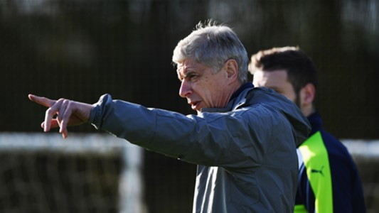 Arsene Wenger, Arsenal training