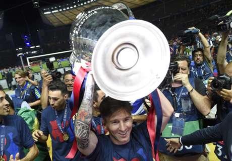 ¿Cuántas finales jugó Messi en su carrera?