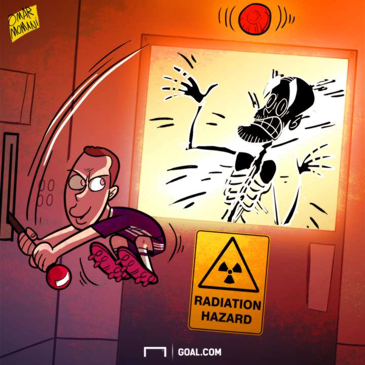Cartoon Eden Hazard Pep Guardiola