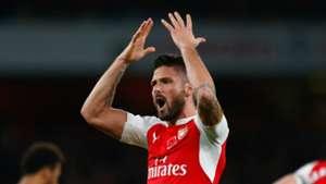 Olivier Giroud Arsenal Tottenham 08112015