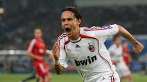 Filippo Inzaghi AC Milan Liverpool Champions League final 2007
