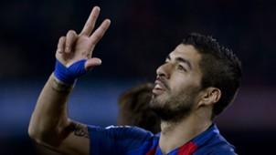 Luis Suarez La Liga Barcelona v Espanyol