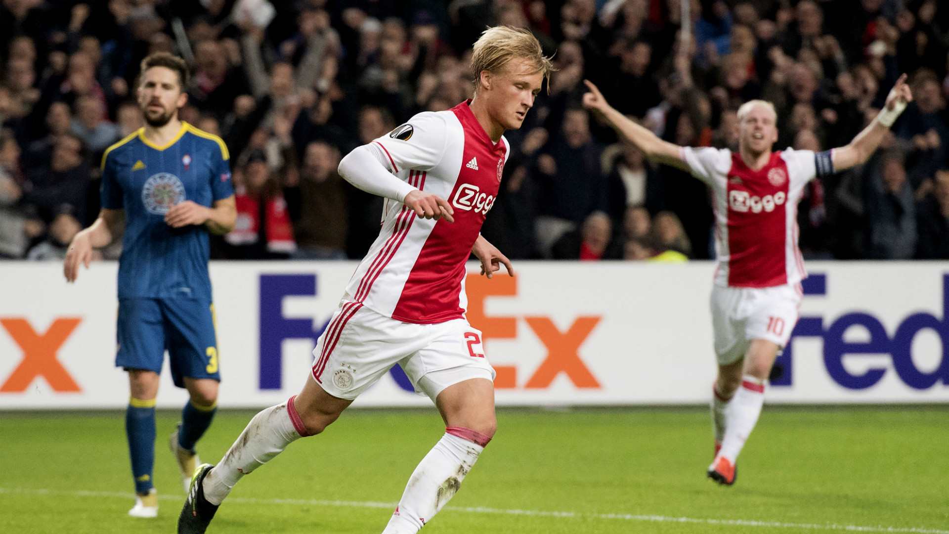 HD Kasper Dolberg Ajax