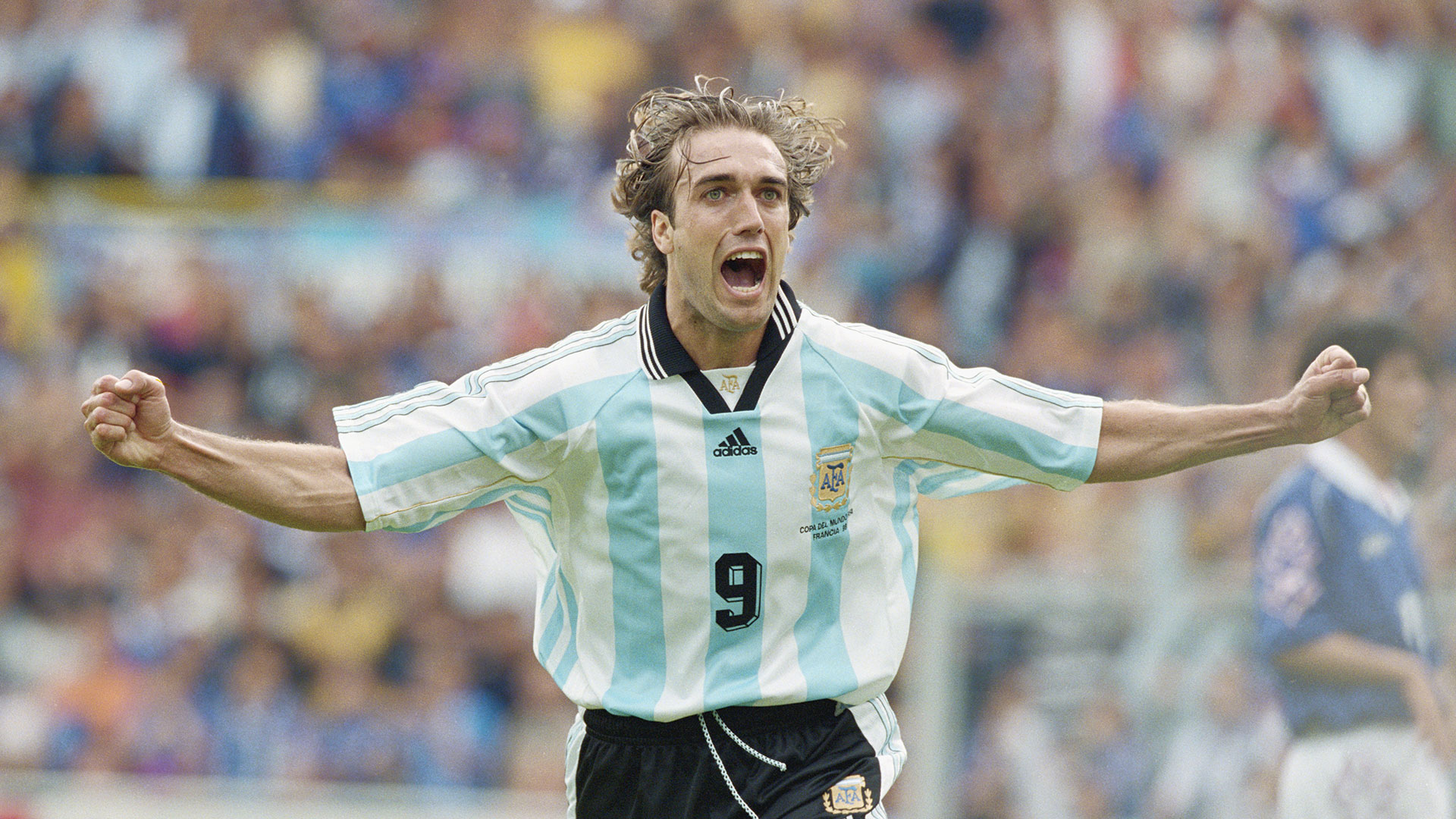 Gabriel Batistuta Argentina Japan 1998 World Cup
