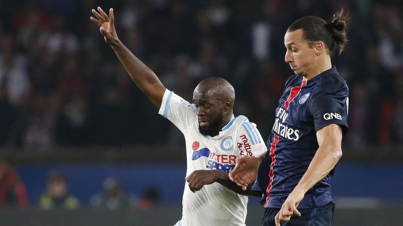 Lassana Diarra Zlatan Ibrahimovic