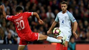 Jordan Henderson England vs Malta 081016