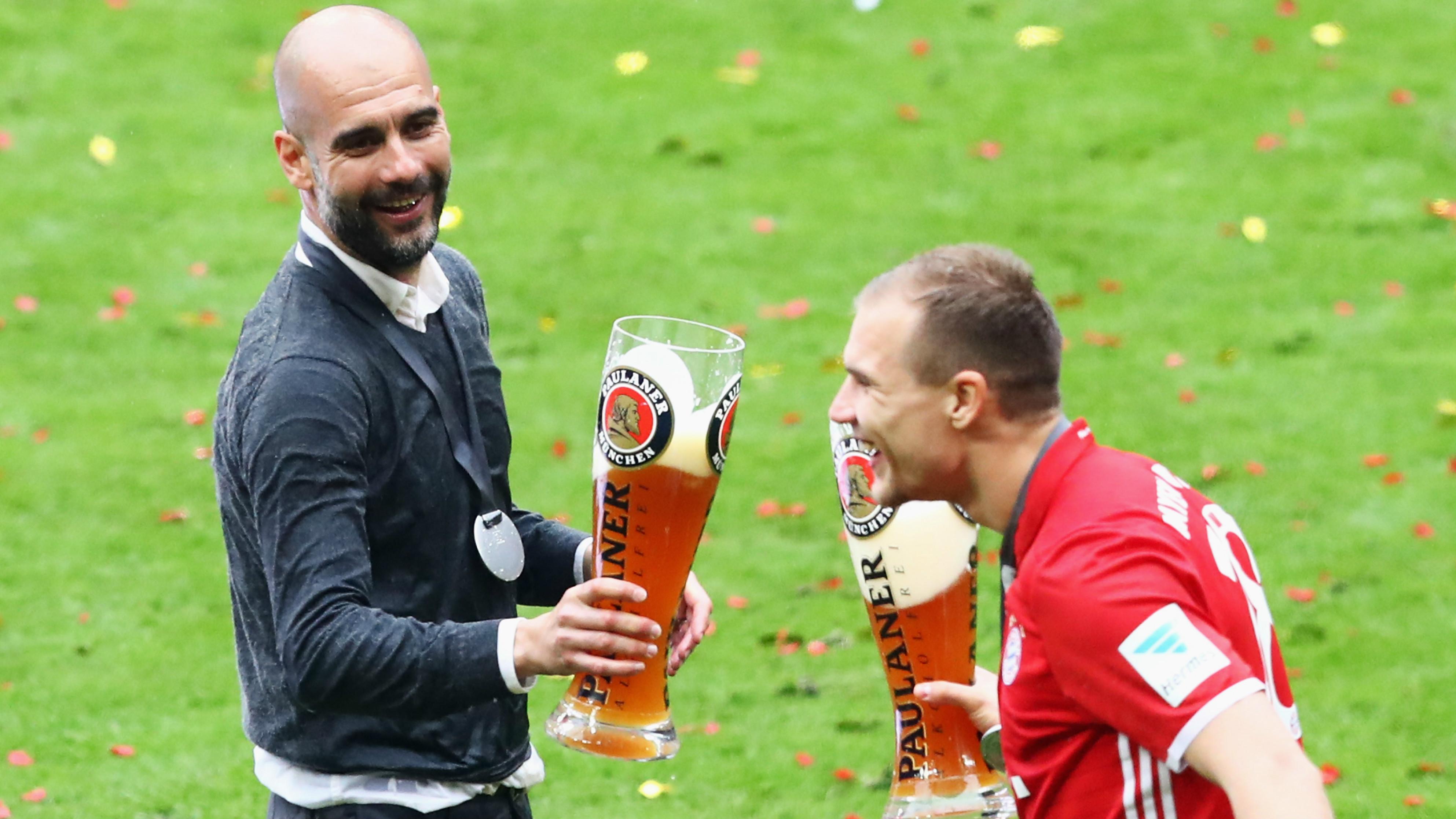 Pep Guardiola Holger Badstuber Bayern Munich