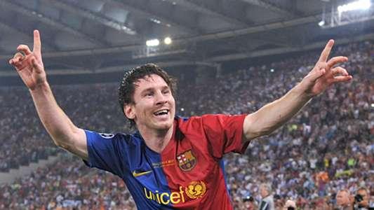 HD Lionel Messi Barcelona Champions League final 2009