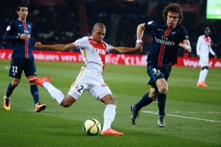 Kylian Mbappe David Luiz Monaco PSG 20032016