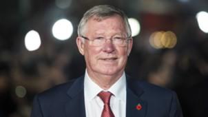 Ronaldo film premiere Sir Alex Ferguson