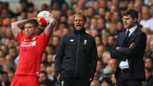 Klopp debut Tottenham Liverpool