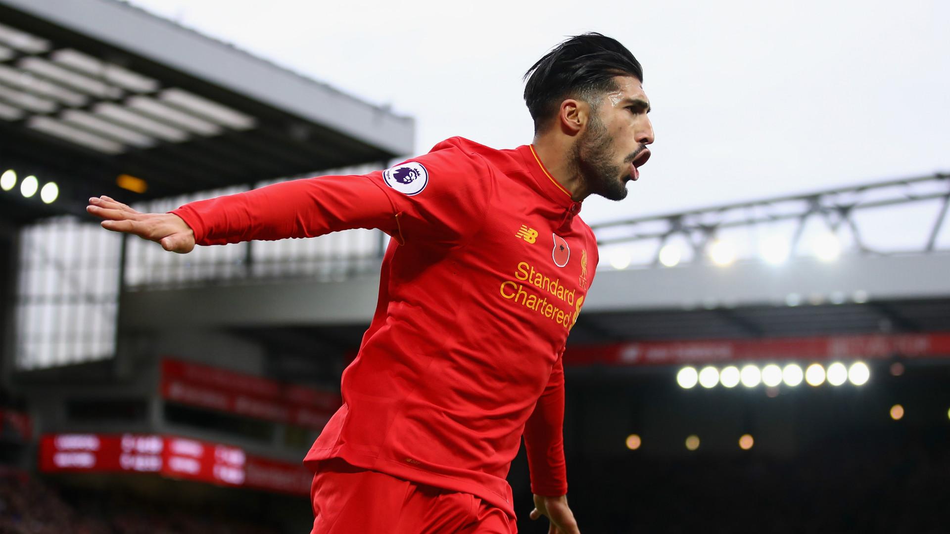 Emre Can Liverpool Premier League 2016