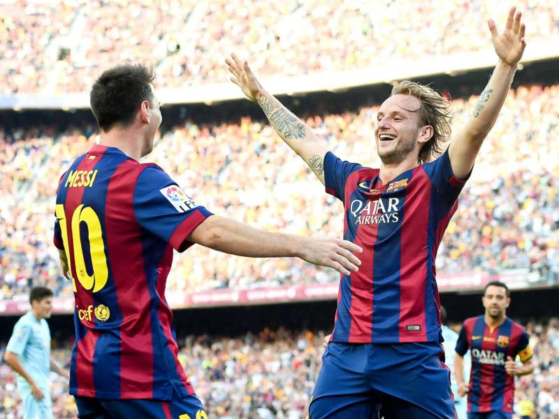 Rakitic: I'll run until it hurts for Messi
