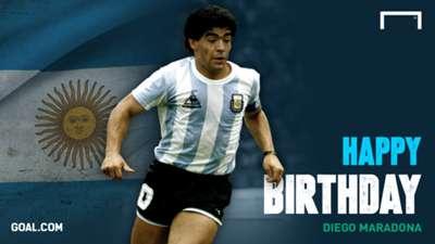 Maradona Birthday