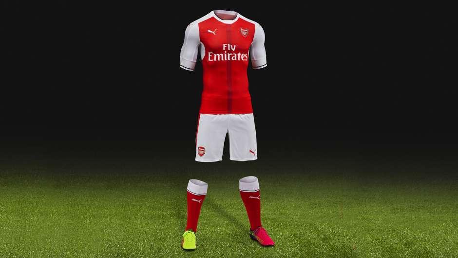 Arsenal 2016-17 kit