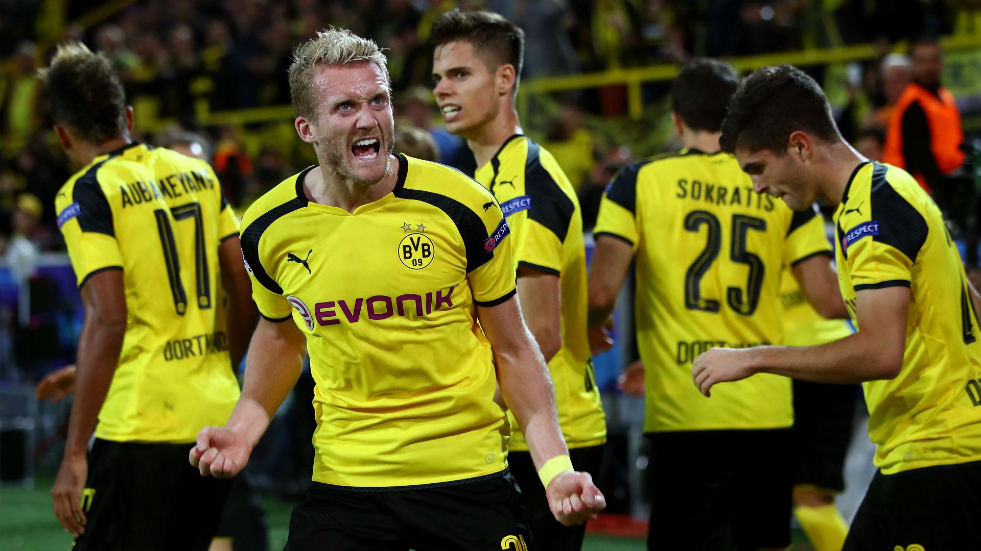 Andre Schurrle Champions League Borussia Dortmund v Real Madri