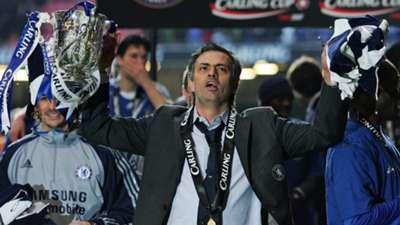 15 Jose Mourinho League Cup title